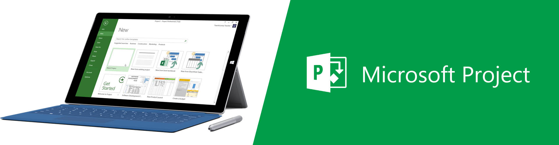Microsoft Project banner